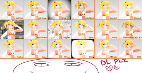 Little effect pack for mmd by OloloshkaBugaga