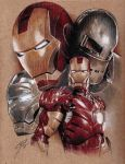 Iron Man - Armour Evolution