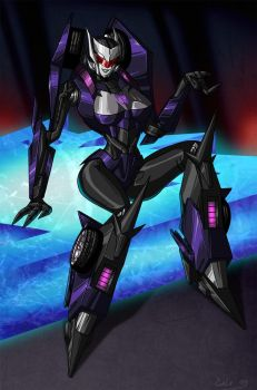 TF Prime-Stella the Vehicon wants YOU by crovirus