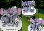Elephant Figurines by Verusca