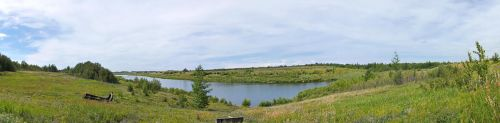 East Pit Lake Alberta by MindlessAngel