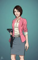 Sue Dibny (Earth-27) commission by phil-cho