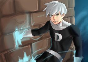 Danny phantom Fanart by OzTheAwe