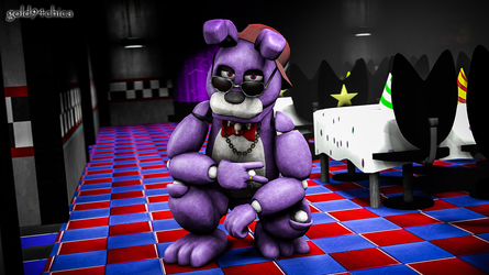 Thug Life (Bonnie SFM Wallpaper) by gold94chica