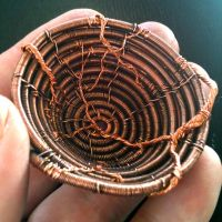 Little Copper Basket Inside by CrafterGod