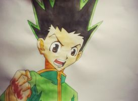 Gon Freecss by scumpiii