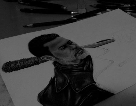 Negan (WIP) by anabdero