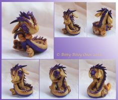 Purple And Gold Bitty Baby by BittyBiteyOnes