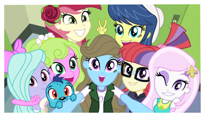 Group Selfie 2 by punzil504