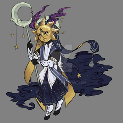 Opia- Sun and Moon Priest (Set Price, CLOSED) by xminxicat