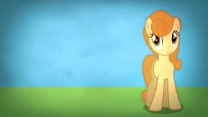 Fairly simple pony wallpapers - Carrot Top by Poowis