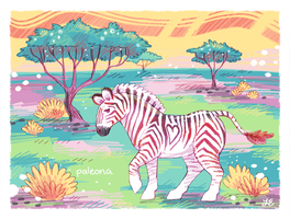 zebra by Paleona
