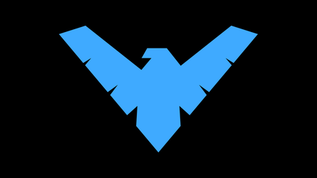 Nightwing Symbol WP by secretxax