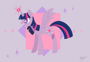 Twilight Sparkle by PegaSisters82