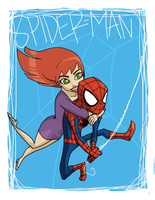 spider-man loves mary jane by the-slift