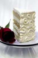Caramel Cake with Meringue 2 by bittykate