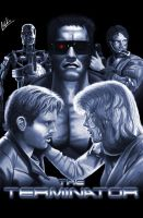 The Terminator Poster by tricketitrick