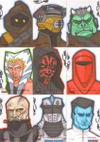 Star Wars Galaxy 4 batch 8 by NORVANDELL