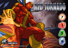 Red Tornado (John Smith) Character by overpower-3rd
