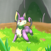 #019 Rattata by inesmarques2011