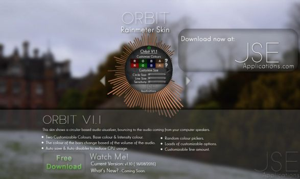 Orbit V1.1 by MetalCactuar