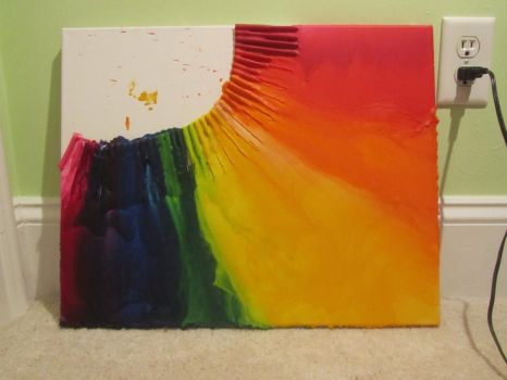 Crayon Melting #2 by sures1109
