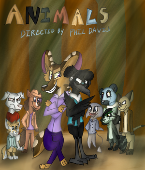 Animals movie poster by Levatheshapeshifter