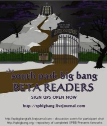 south park big bang 2013 BETA READERS by w0rmsign