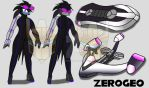 Sonic Riders: Unlimited - Jenny the Raven by ZER0GEO