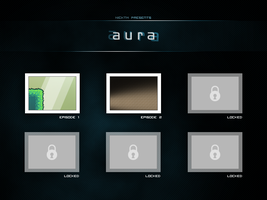 Aura Titlescreen by SixWinged