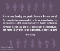 On stereotypes.. by rationalhub