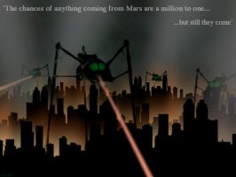 The War of the Worlds by OrbitalWings