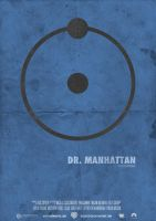 Dr. Manhattan Poster by odindesign