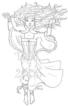 WIP - Snow Queen by Thitida-No-Chey