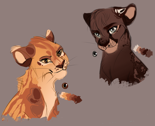 Lioness adoptables (CLOSED) by Teparda