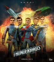 Thunderbirds Are Go - Poster by Jackardy