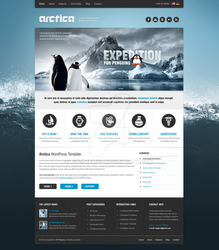 WP Running Penguins! by ait-themes