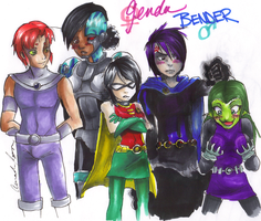 TT-Gender Bender by IceCatDemon
