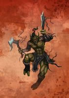 Troll Warlord by bmd247