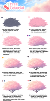 Tree tutorial (Cherry) by PastelFruits