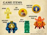 Game Items by chriscrazyhouse