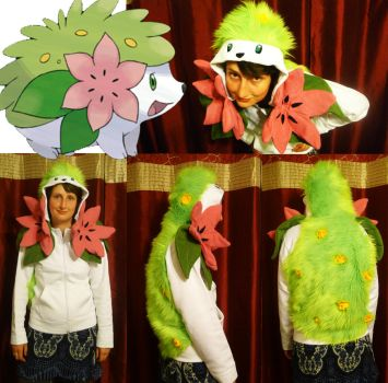 Shaymin Hoodie by TrafficConeCreations