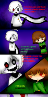 Chara's Party (2) English by KiddoDrawsOficial
