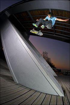 Anthony - SwFlip Fakie by SnoopDong
