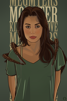 'Monster' Meg Myers by Aseo