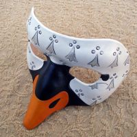 Custom Swan Mask by merimask