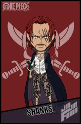 Akagami no Shanks by jimjimfuria1