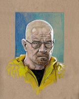 Walter White sketch by MarkButtonDesign