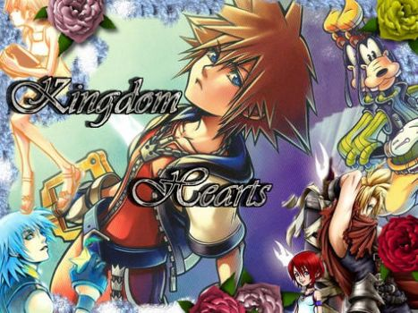 +Kingdom Hearts background+ by Moonlightgirl