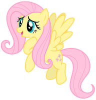 Vector: Fluttershy 17 by EStories